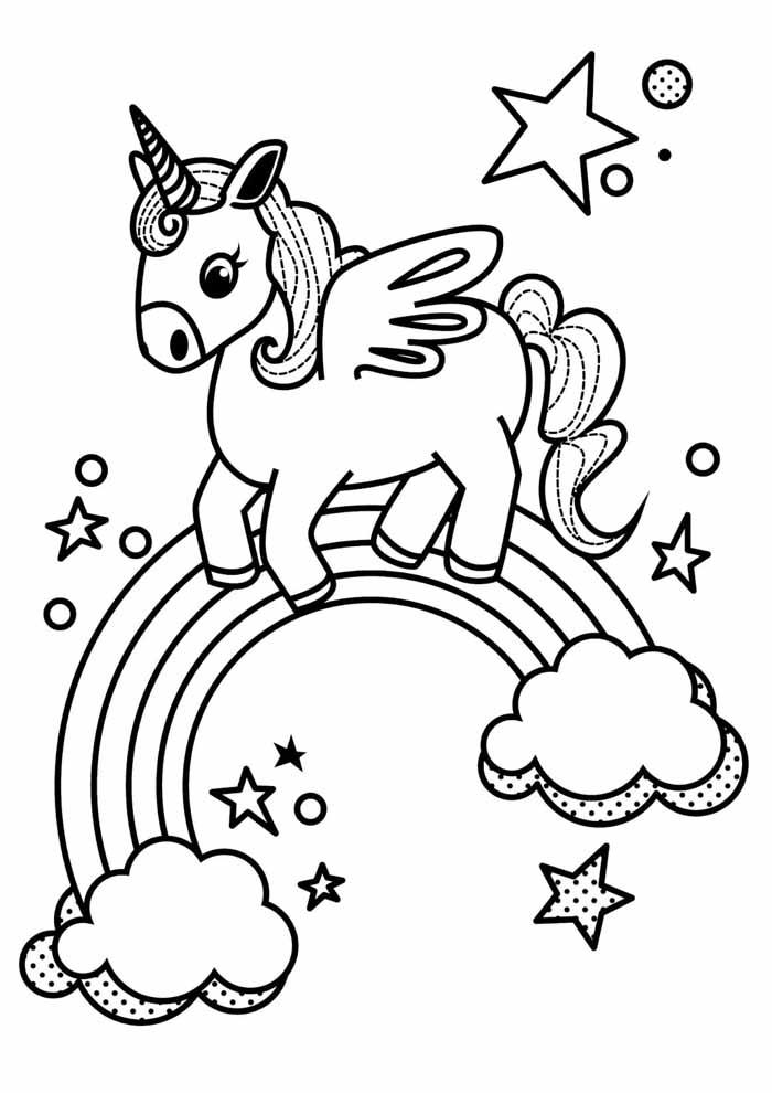 unicornio para colorir 16