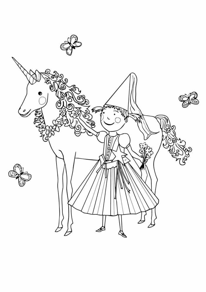 unicornio para colorir 20