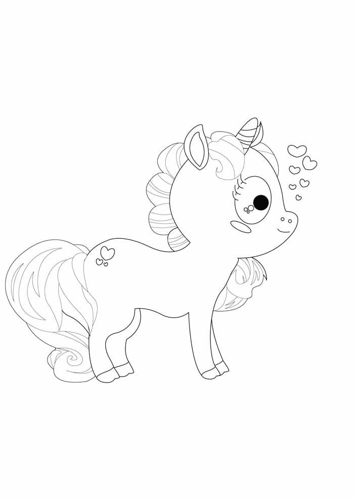 unicornio para colorir 21