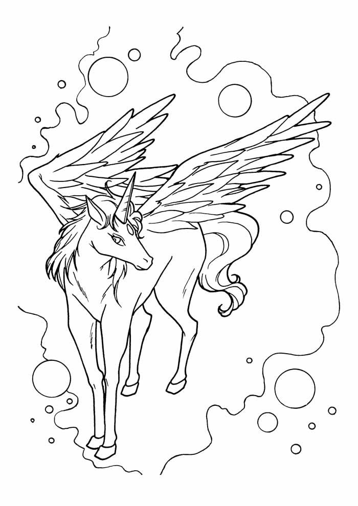 unicornio para colorir 25