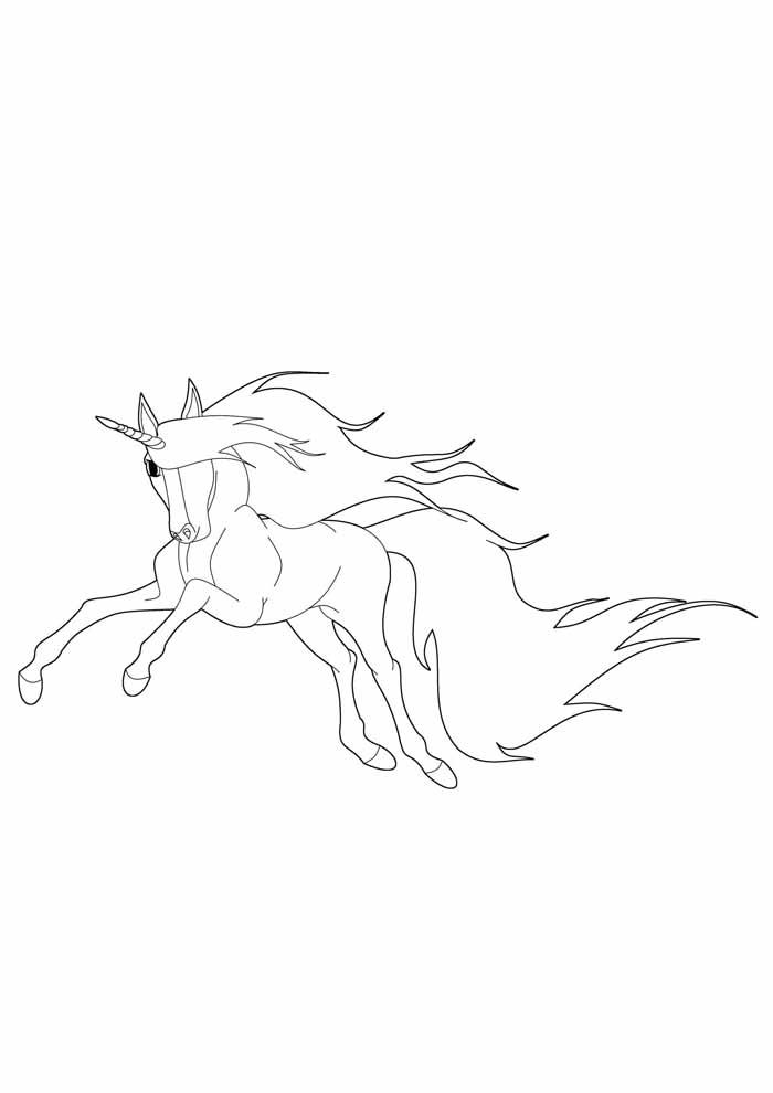 unicornio para colorir 26