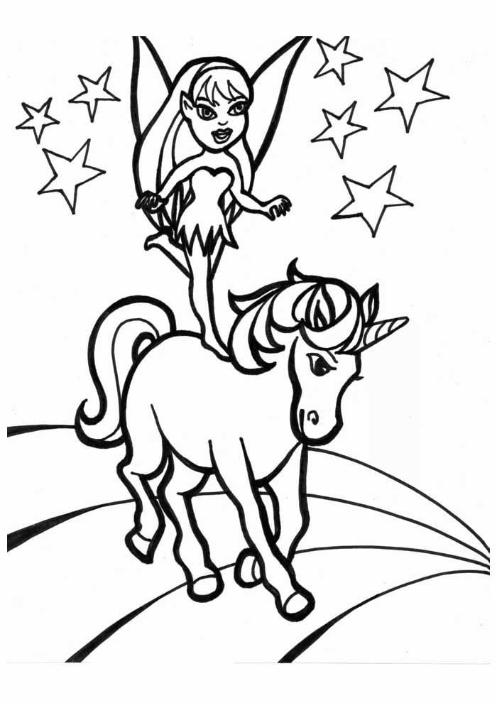 unicornio para colorir 3