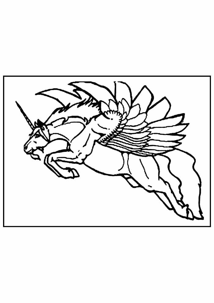 unicornio para colorir 31