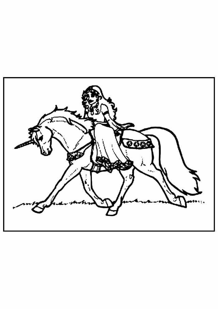 unicornio para colorir 32