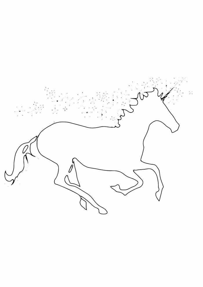 unicornio para colorir 33