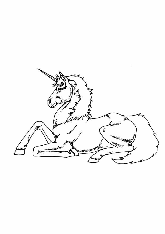 unicornio para colorir 34