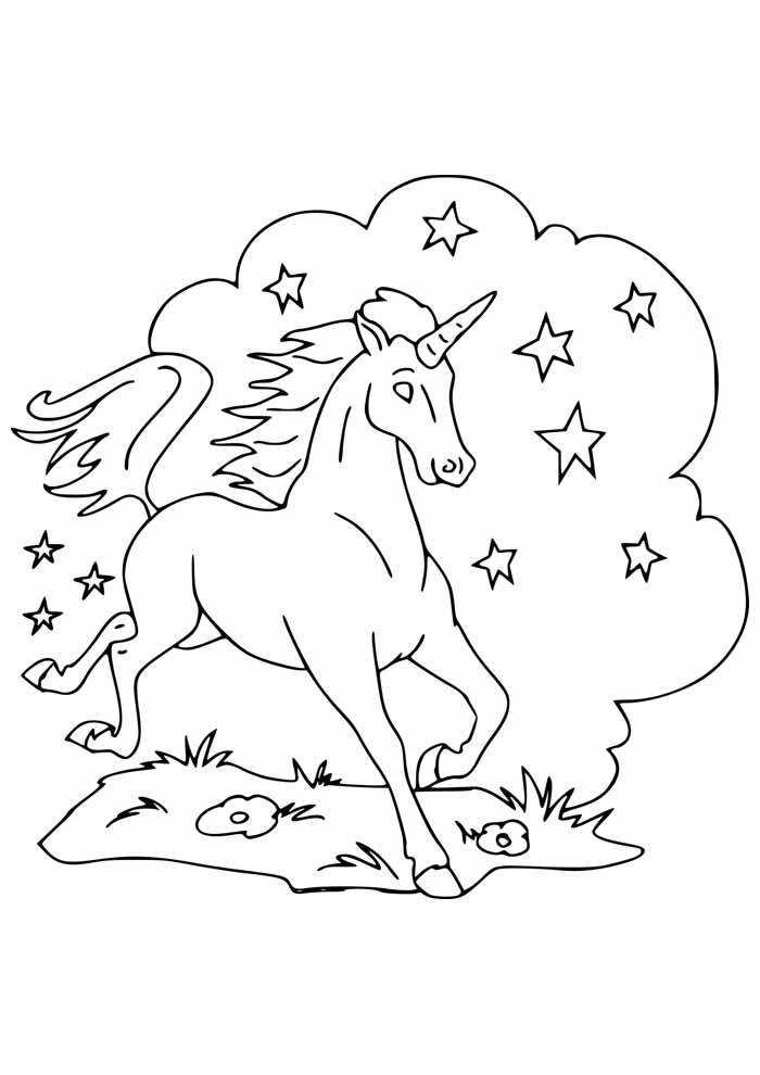 unicornio para colorir 38