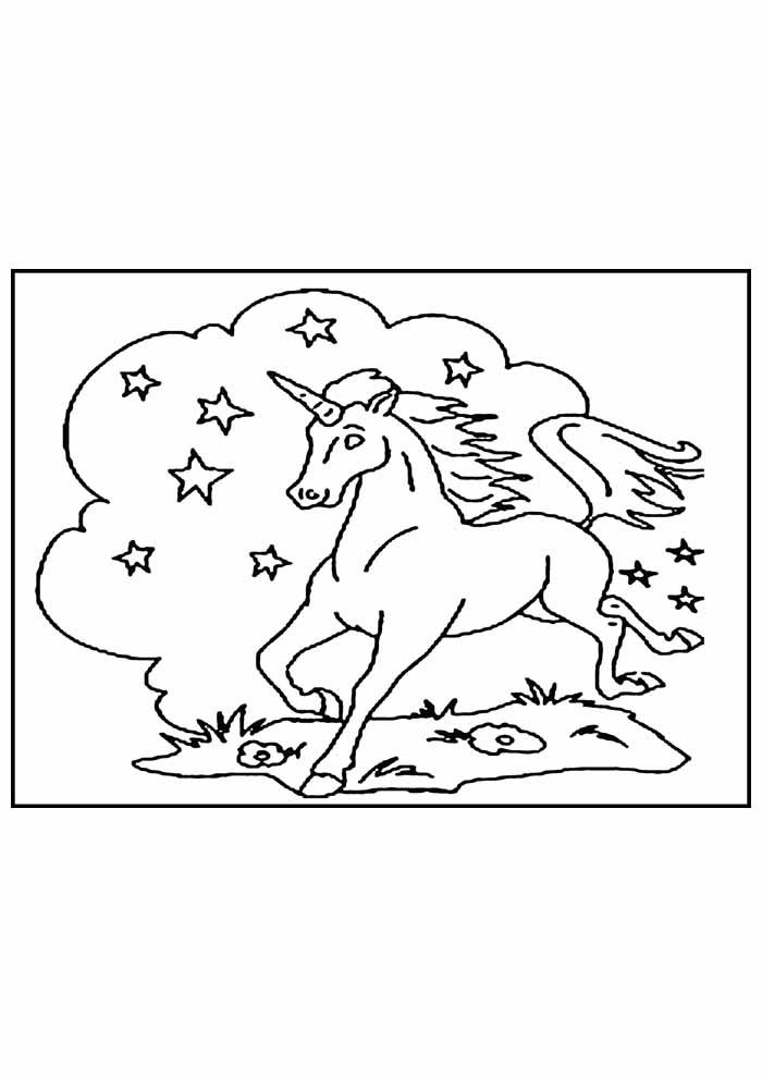 unicornio para colorir 39