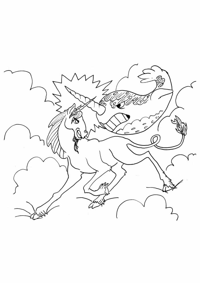 unicornio para colorir 40