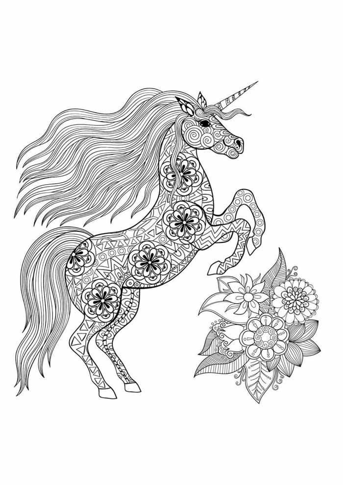 unicornio para colorir 43