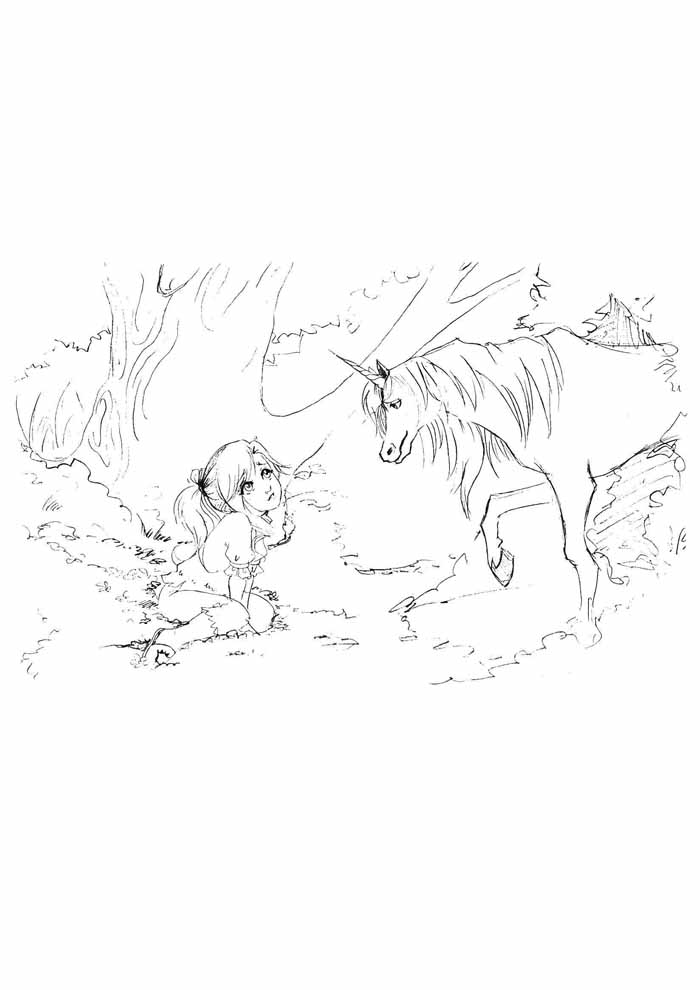 unicornio para colorir 44