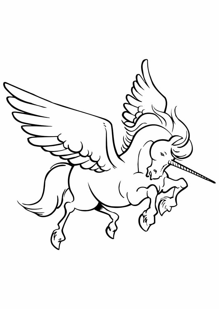 unicornio para colorir 45