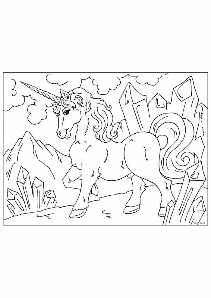 unicornio para colorir 46