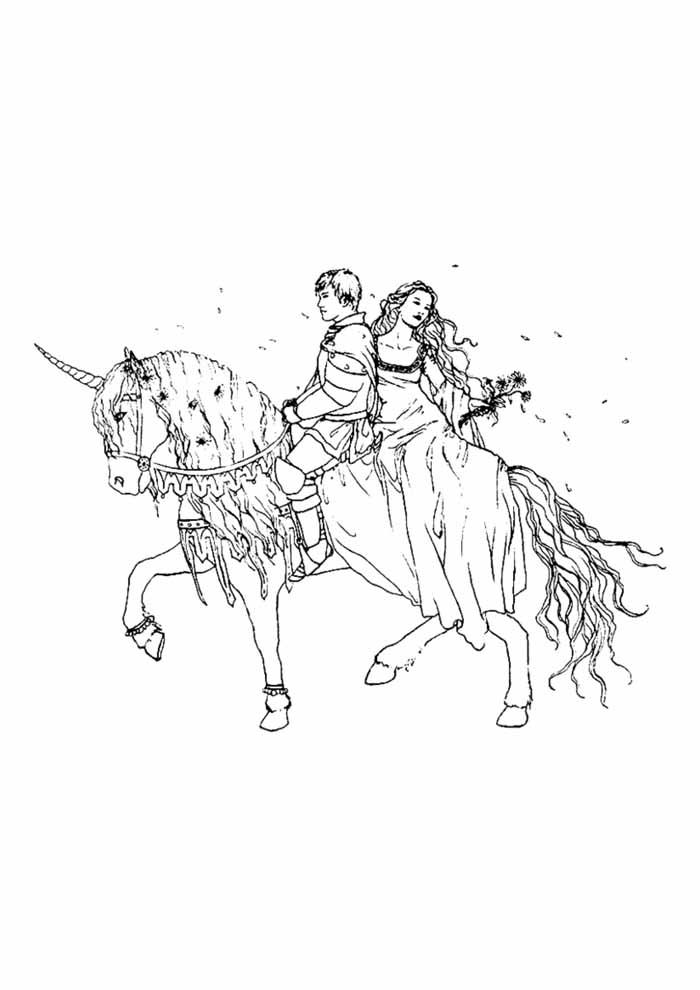 unicornio para colorir 49