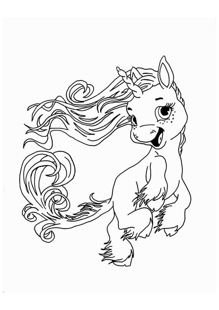 unicornio para colorir 57