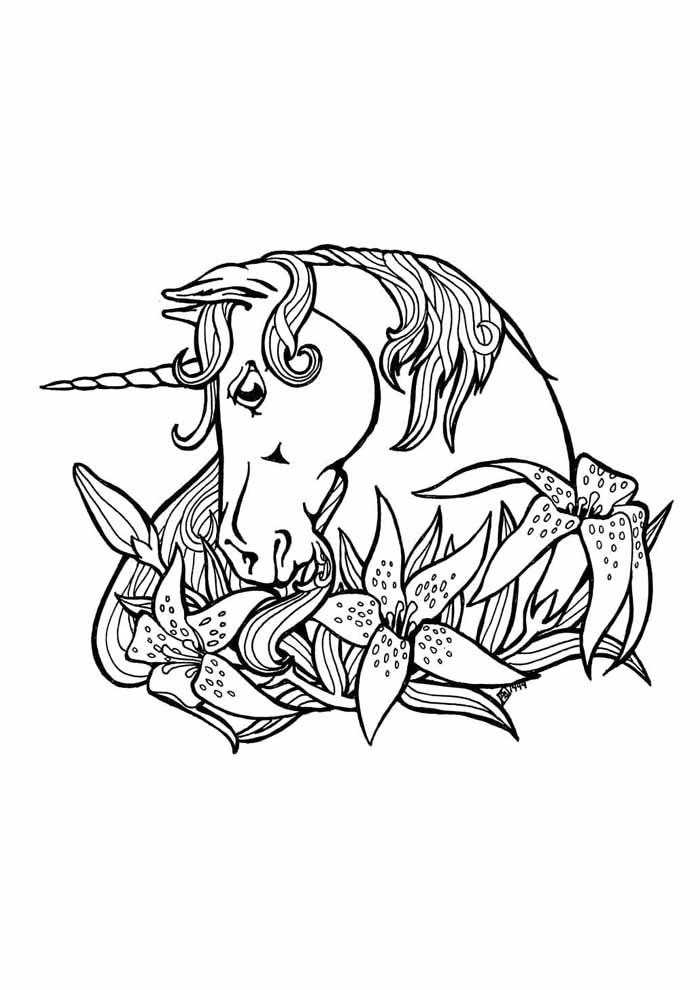 unicornio para colorir 59