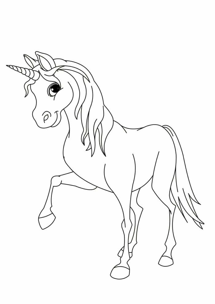 unicornio para colorir 6