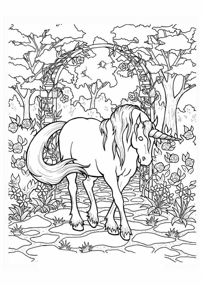 unicornio para colorir 60