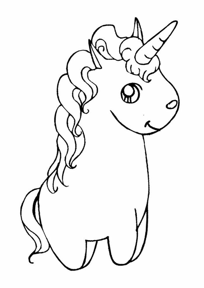 unicornio para colorir 61