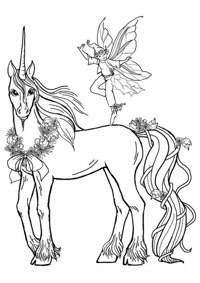unicornio para colorir 62