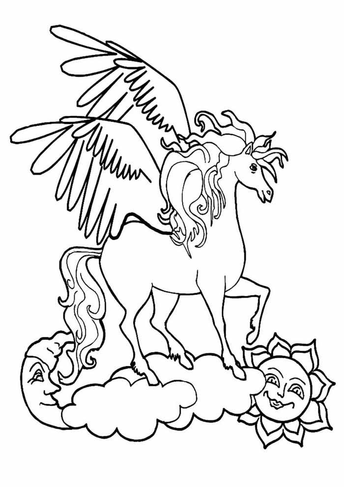 unicornio para colorir 64