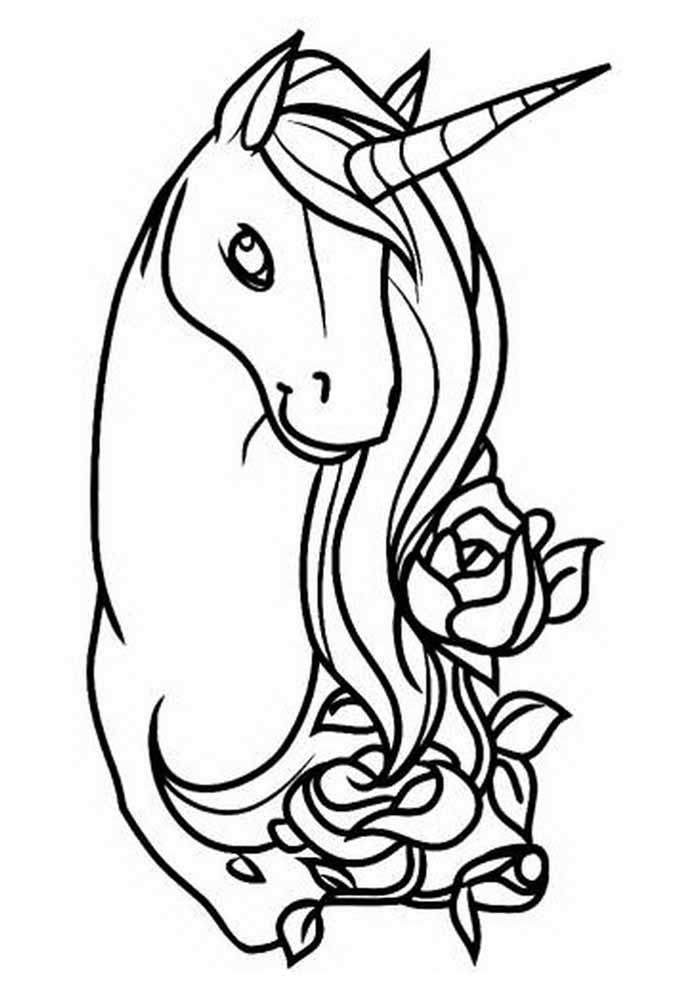 unicornio para colorir 68