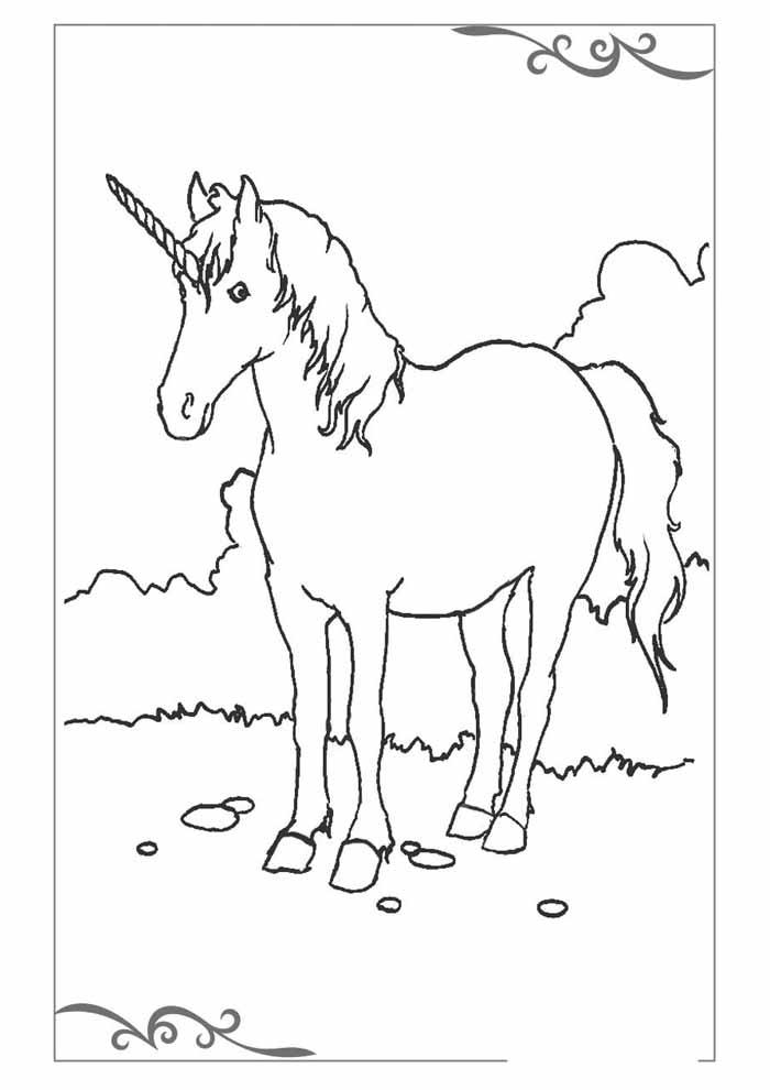 unicornio para colorir 7