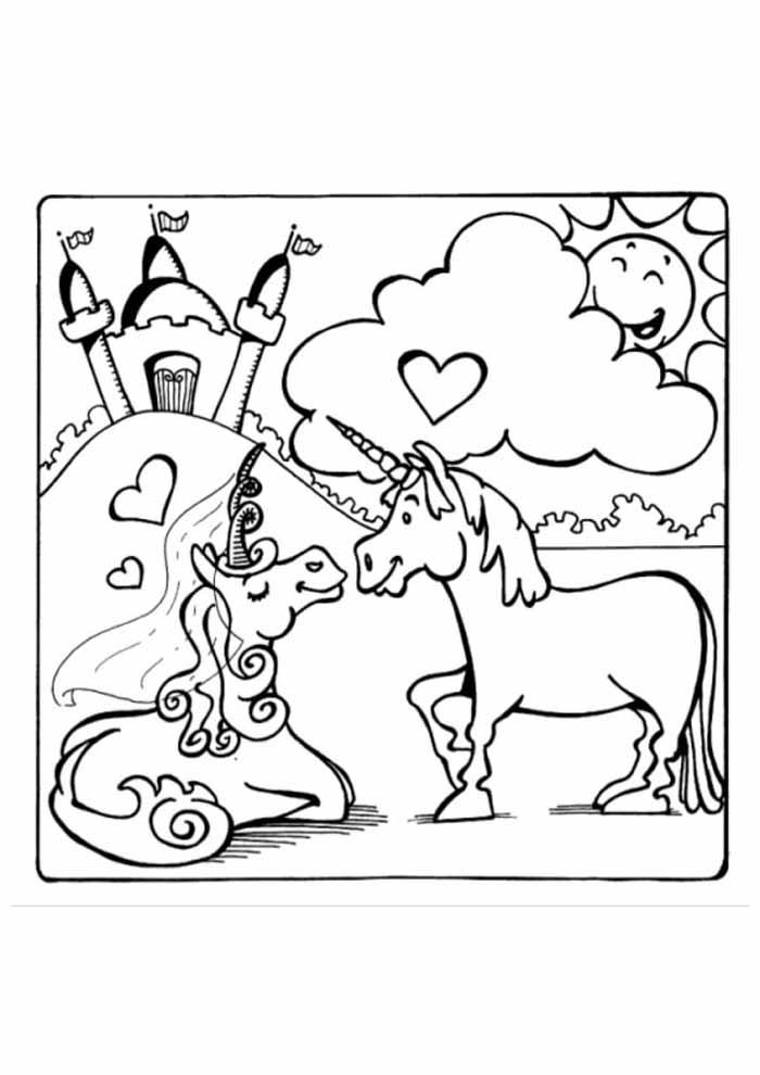 unicornio para colorir 70