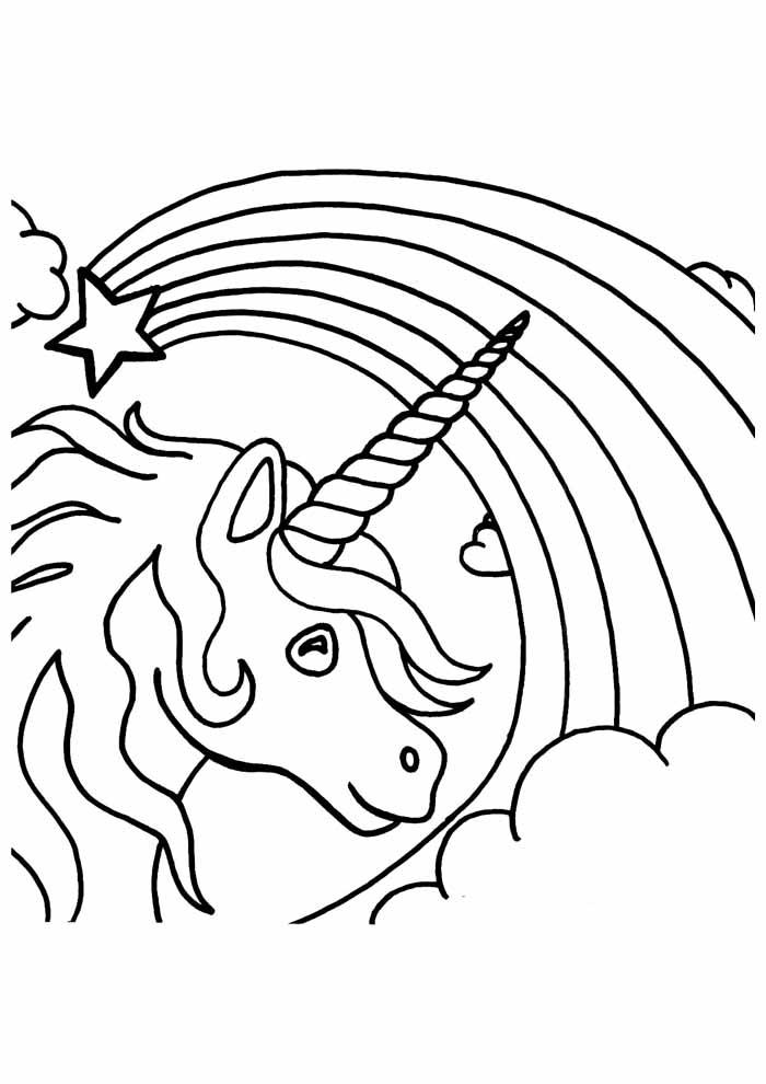 unicornio para colorir 72