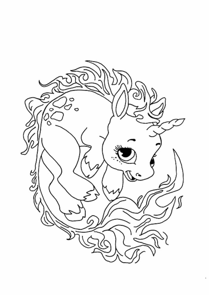 unicornio para colorir 75