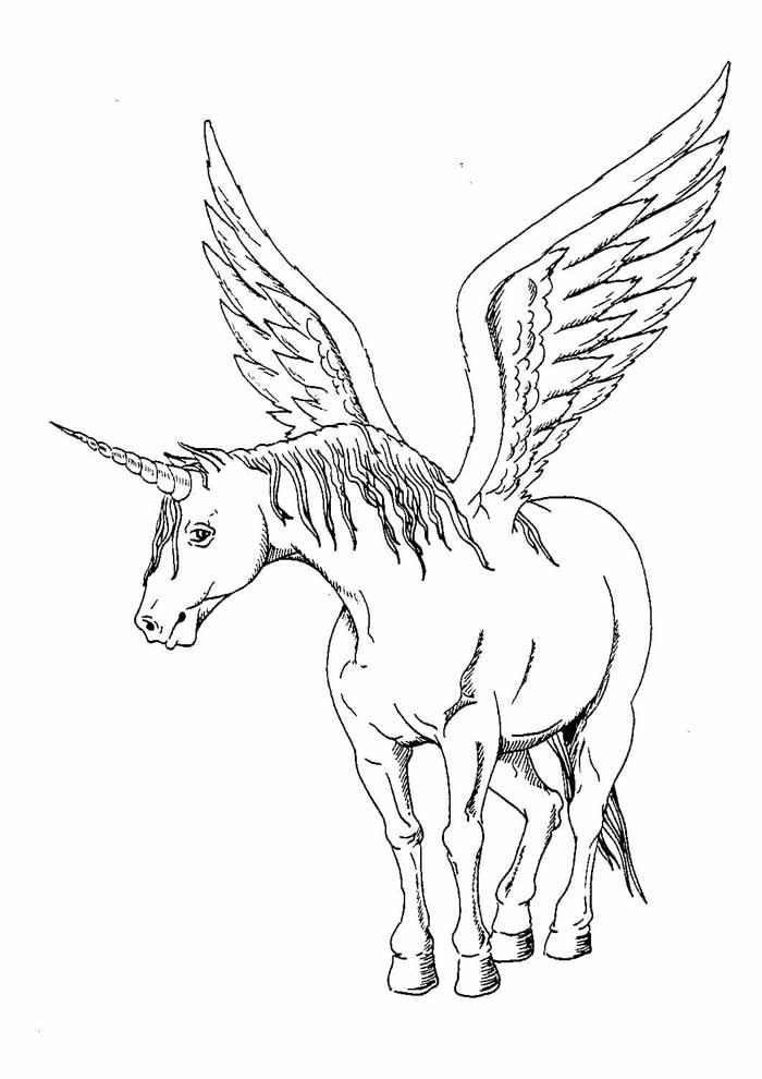 unicornio para colorir 76