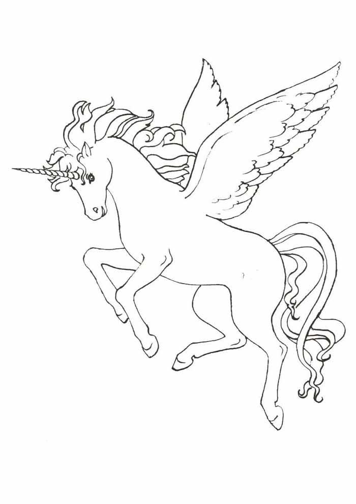 unicornio para colorir 9