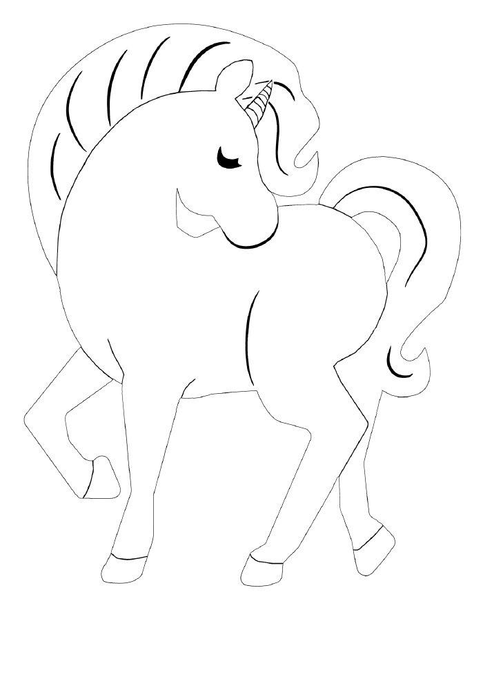 unicornio-para-colorir-charmoso