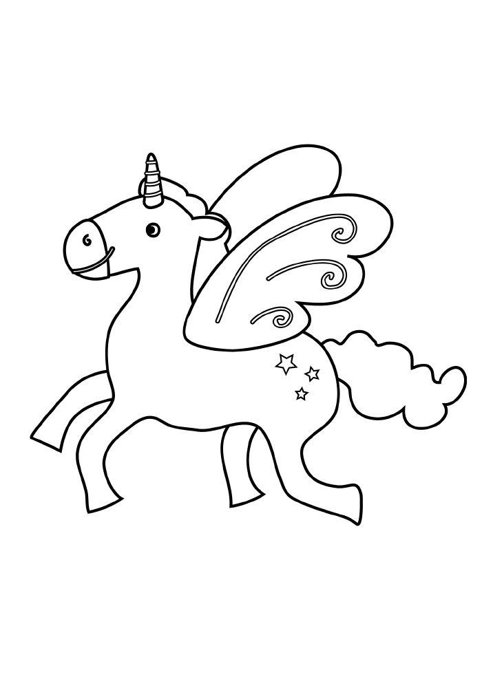 unicornio-para-colorir-com-asas