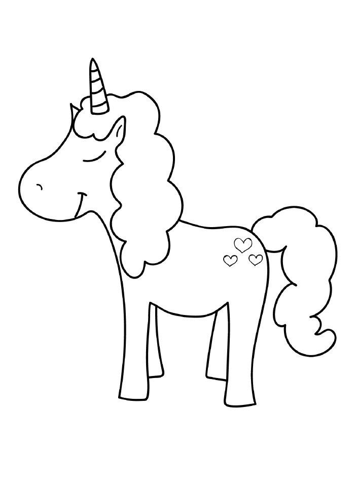 unicornio-para-colorir-com-coracoes