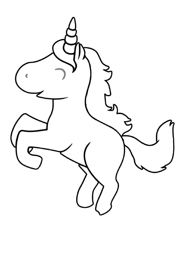 unicornio-para-colorir-feliz