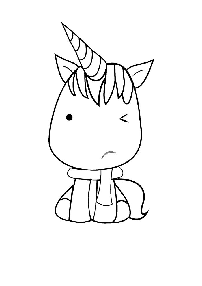 unicornio-para-colorir-kawaii