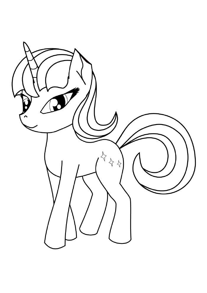 unicornio-para-colorir-lindo-ponei