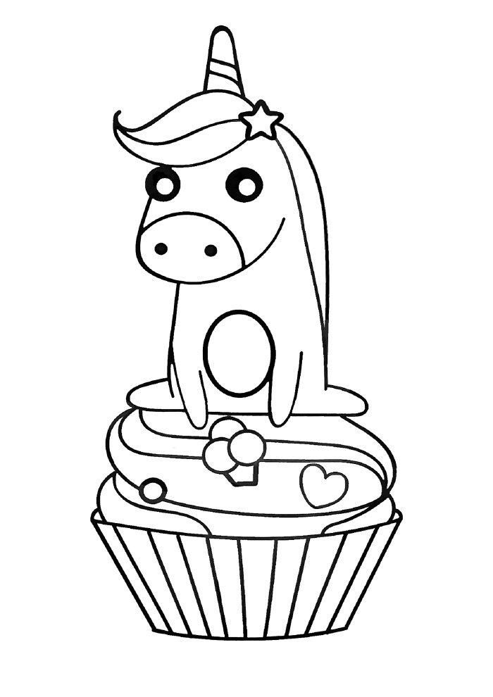unicornio-para-colorir-no-cupcake