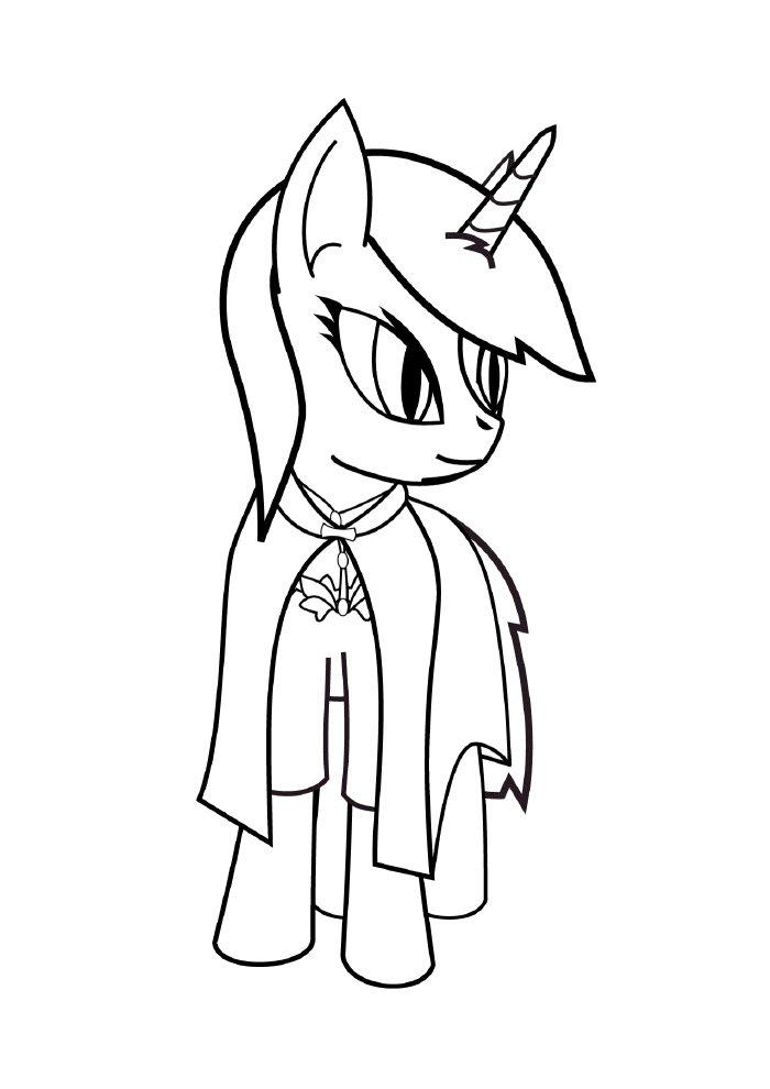 unicornio-para-colorir-pequeno-ponei