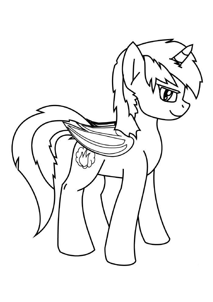 unicornio-para-colorir-ponei