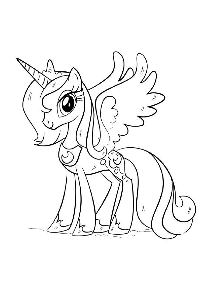 unicornio-para-colorir-princesa-voadora