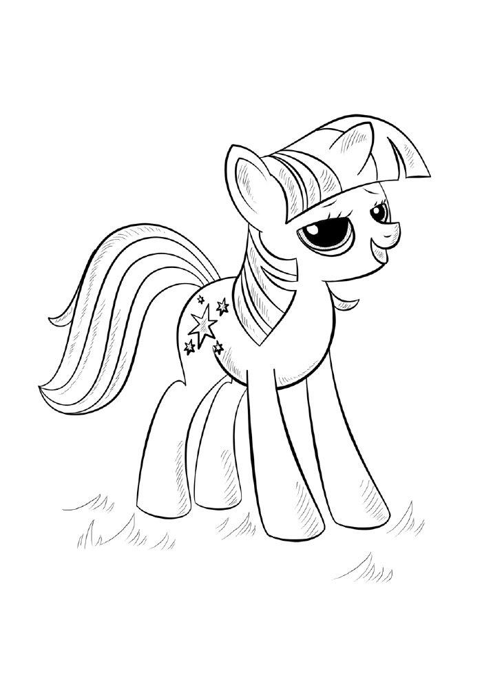 unicornio-princesa-para-colorir