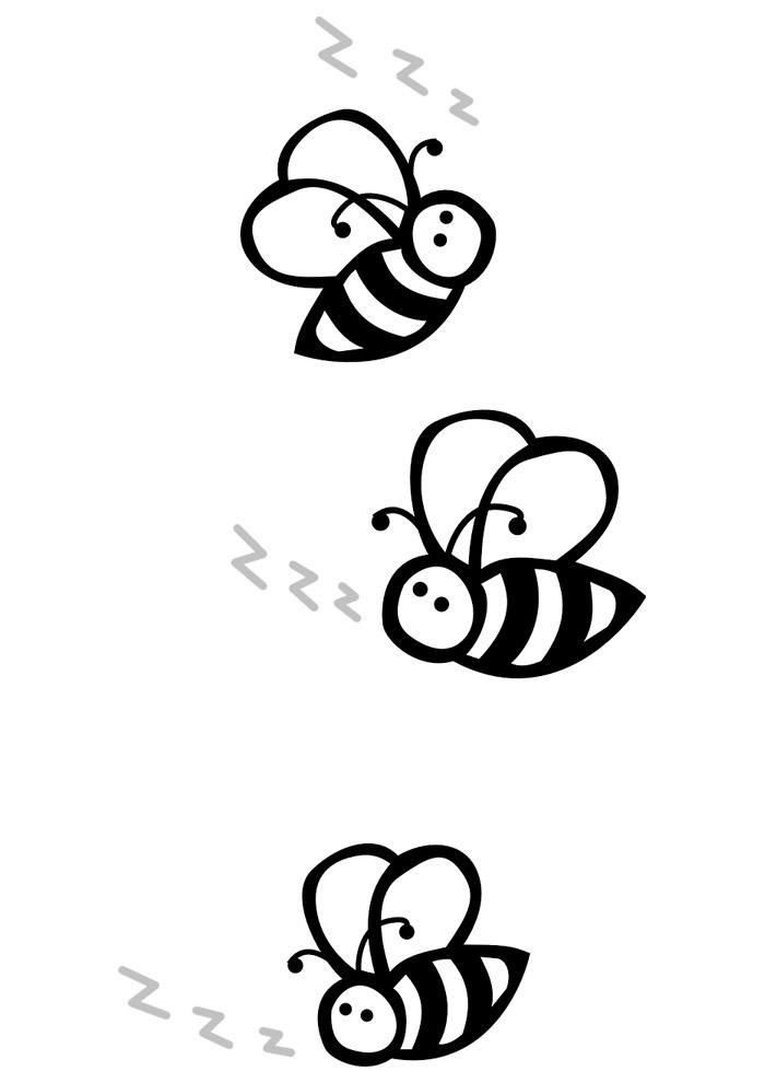 abelha para colorir 25