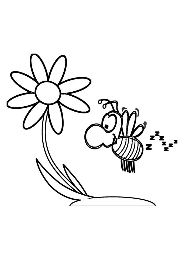 abelha para colorir 29