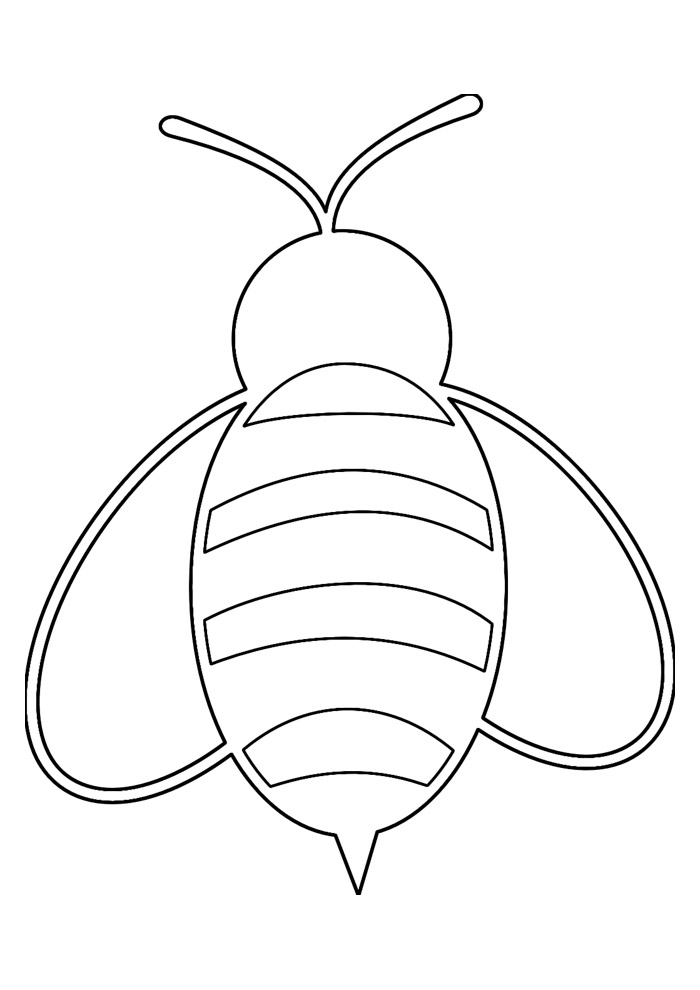 abelha para colorir 32