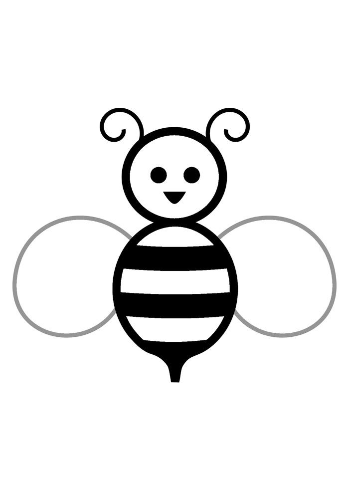 abelha para colorir 35
