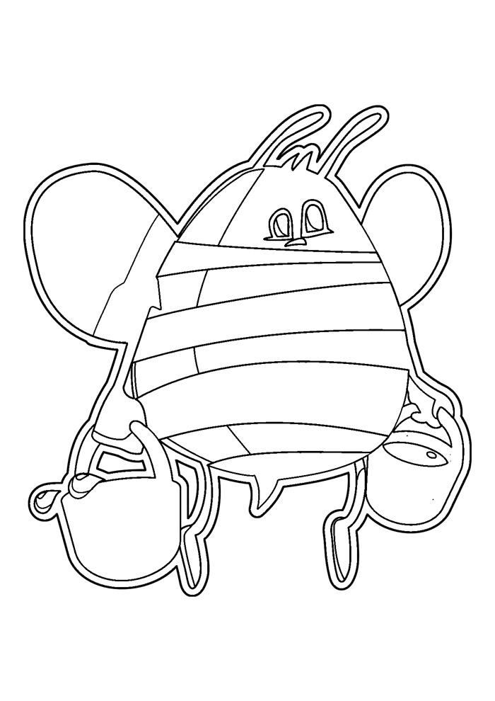 abelha para colorir 39