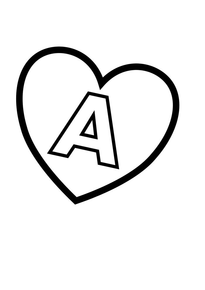 alfabeto para colorir a