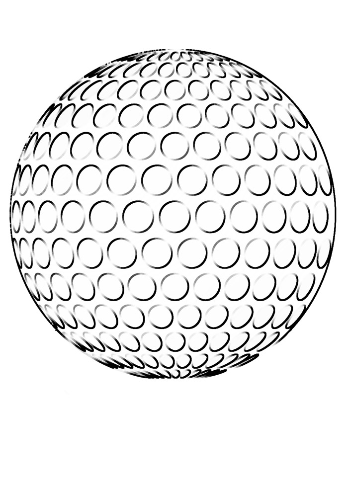 bola para colorir 13